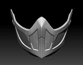 3D printable model Frost mask for cosplay Mortal Kombat 11