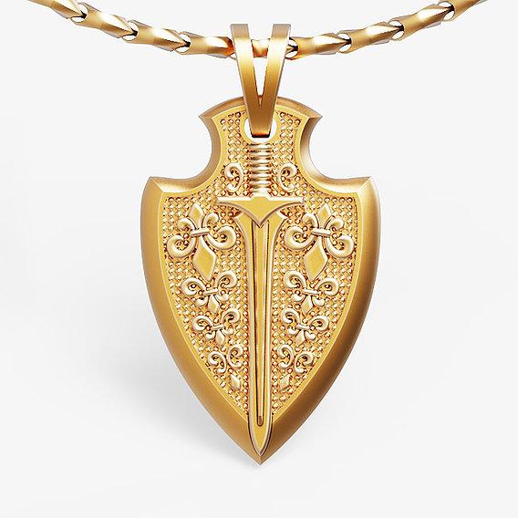 fashion sword pendant