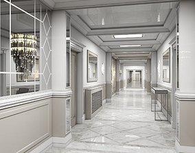 3D Grand Corridor Tileable Kit 2