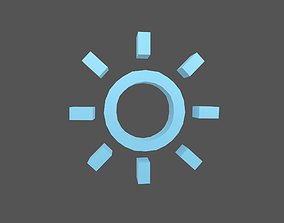 3D model Weather Symbol v16 004