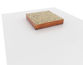 Toast bread 3D printable model