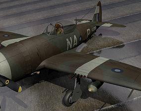 Republic Thunderbolt Mk-2 - RAAF 3D
