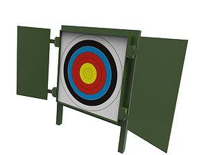 3D asset Archery Target