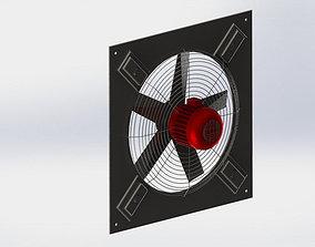 3D model Wall Fan