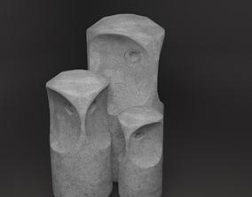 OWL stone statuette 3D model