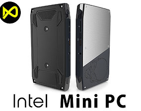 Intel NUC6i7KYK Skull Canyon Mini PC Gaming 3D model