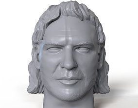 Kenny Omega 3D printable portrait sculpt
