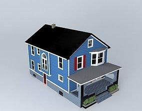 House 3D model building