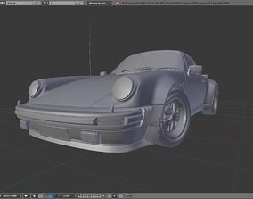 3D model 1975 Porsche 911 930 Turbo