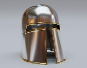 HELMET MEDIEVAL 3D MODEL game-ready