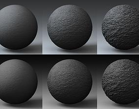 3D model Displacement Landscape Shader 057