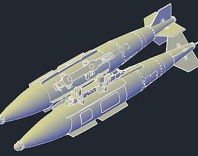 3D printable model Revell B-1B Lancer MPRL JDAM GBU-31V1