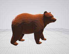 3D model beautiful Bear