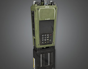 3D asset Military Walkie Talkie Radio - MLT - PBR Game