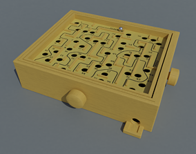Labyrinth Maze Game 3D model