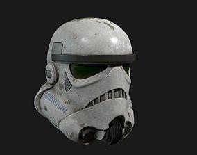 Storm trooper 3D asset