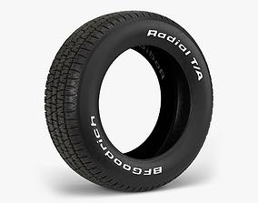 3D model BFGoodrich Radial TA Tire ta