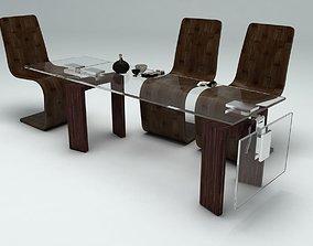 dinner table 3D