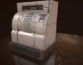 Cash Register 3D asset realtime