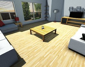3D asset Home Furniture Pack Free