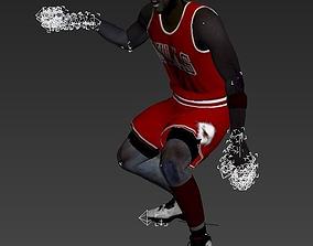 Michael Jeffrey Jordan 3D model