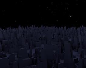 City Shaped Greeble 3D model