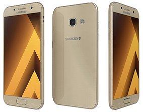 Samsung Galaxy A3 2017 Gold Sand 3D
