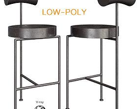 Brasil Design Apartment bar stool 3D asset