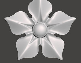 Floral bas-relief for cnc FLCFC0E 3D printable model