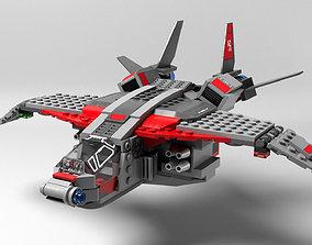 Lego Captain Marvel 3D