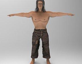 Tarzan 3D asset
