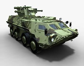 BTR-4E Bucephalus 3d model