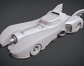 Bat Mobile 1989 3D print model