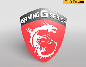 MSI Logo 01 - 8K Texture 3D model