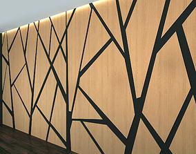 3D model Wall Panel Set 9