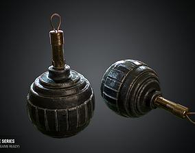 Kugel Grenade - WWI Grenade Series 3D model