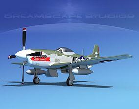 3D model P-51D Mustang Texas Terror IV