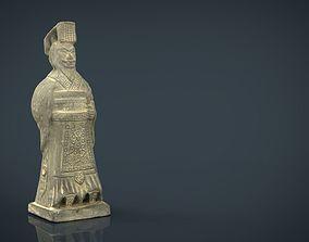 Terracotta Warriors Emperor Qin Shi Huang 3D model