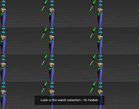 Look at the watch collection characterstudio 3D