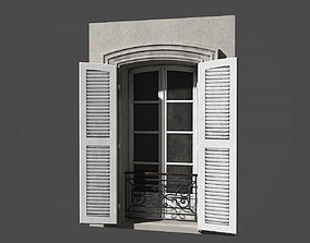 3D asset Modular french window