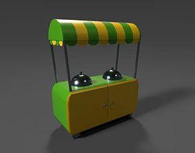 retail store equipment - hot corn 3D model