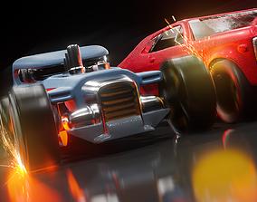 Hot Rod - Hot Wheels - Car Model - Game Ready 3D asset