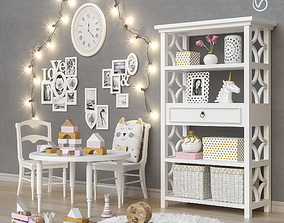3D model Toys and furniture set 25
