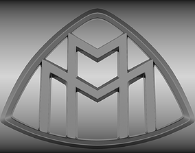 3D Maybach logo