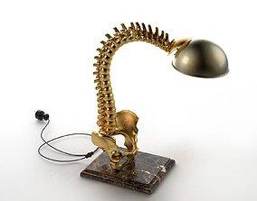 Spine Table Lamp 3D model