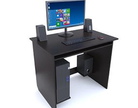 3D furniture Computer desk