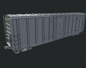 train Box Car 3D