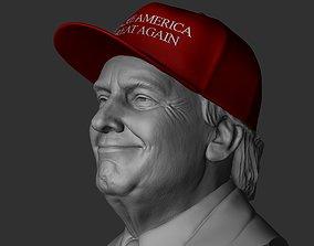 3D printable model Trump - Make America Great Again