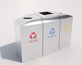 Recycle Bin-3 3D model