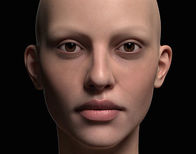 Human Woman Face 3D likeness